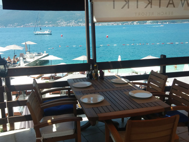 Great Cuisine - Great view!
